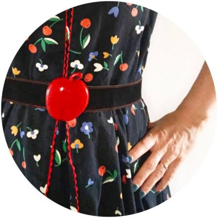 An apple for the teacher My favourite vintage belt forhellip