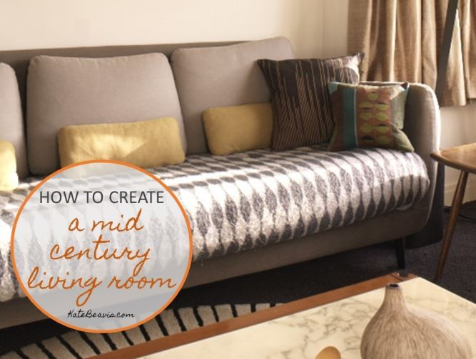 How to create a mid century living room Art Glass