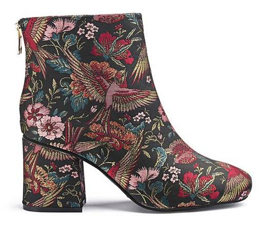 embroidered boots by Simply Be