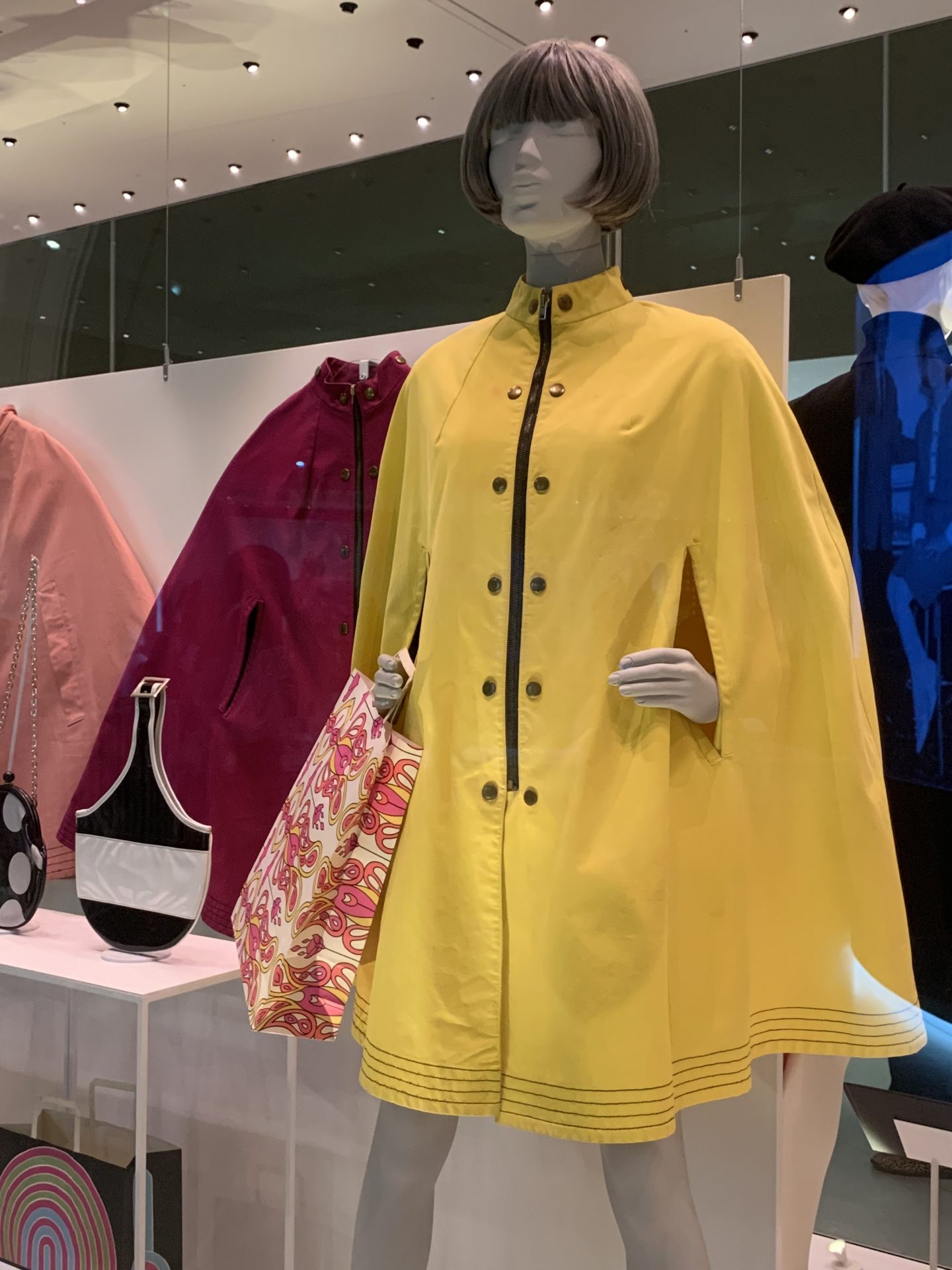 Mary Quant 1960s vintage fashion at the V&A Cape