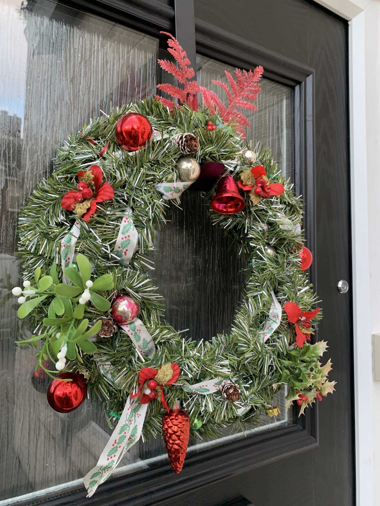 Our Vintage Christmas Decorations   wreath